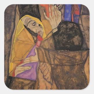 Egon Schiele- The Blind Sticker