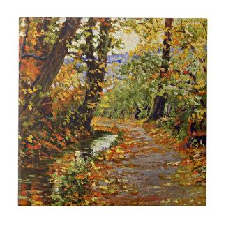 Egon Schiele - Winding Brook Ceramic Tile
