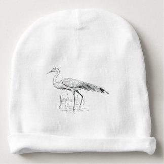 Egret Baby Beanie