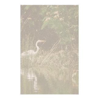 Egret Birds Wildlife Animal Photography Custom Stationery