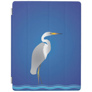 Egret on the Beach iPad Cover