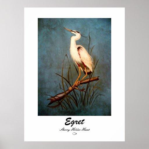 Egret Posters