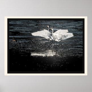 Egret Print