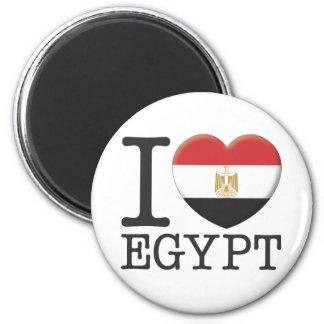 Egypt 6 Cm Round Magnet