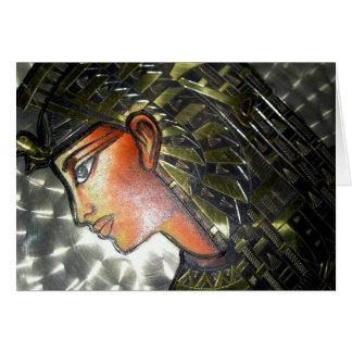 Egypt Art Greeting Card