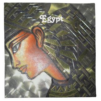 Egypt Art Printed Napkin