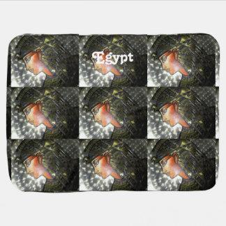 Egypt Art Receiving Blanket