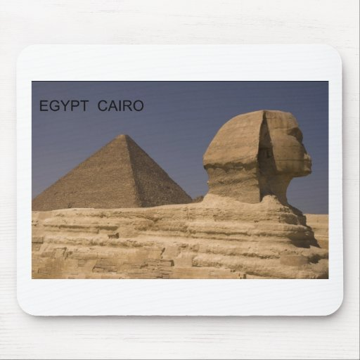 Egypt Cairo Giza Sphinx (St.K) Mouse Pads