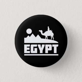Egypt Camel Silhouette 3 Cm Round Badge
