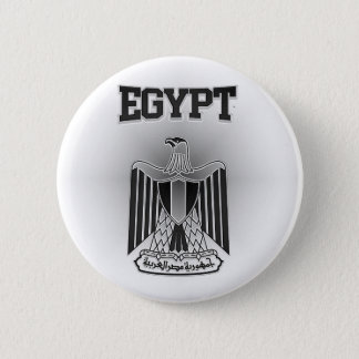 Egypt Coat of Arms 6 Cm Round Badge