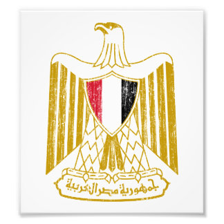 Egypt Coat Of Arms Photographic Print
