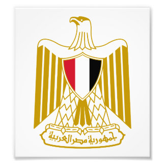 Egypt Coat Of Arms Art Photo