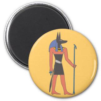 Egypt divinity Anubis egypt deity 6 Cm Round Magnet