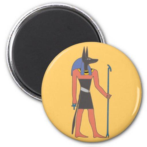 Egypt divinity Anubis egypt deity Refrigerator Magnets