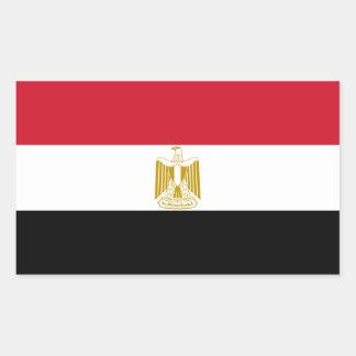 Egypt/Egyptian Flag Rectangular Sticker