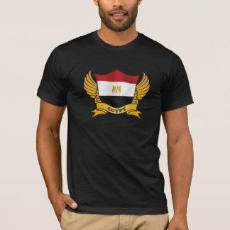 Egypt Elegant Flag Banner T-Shirt