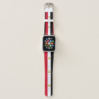 Egypt Flag Apple Watch Band