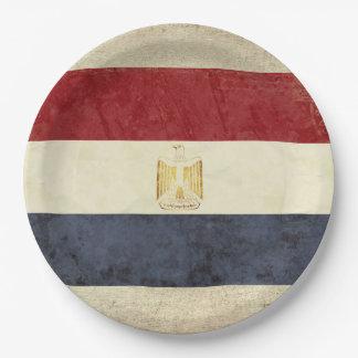 Egypt Flag Paper Plates