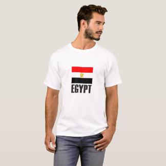 Egypt Flag Simple Bold T-Shirt