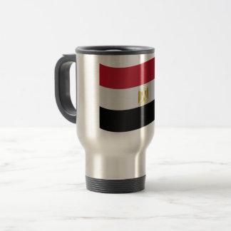 Egypt Flag Travel Mug