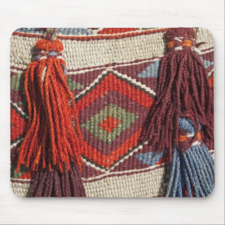 Egypt, Giza. Camel blanket at the Pyramids of Mouse Pad