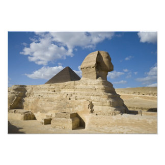 Egypt, Giza. The great Sphynx rises above the 2 Photo