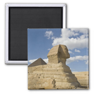 Egypt, Giza. The great Sphynx rises above the Magnet