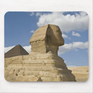 Egypt, Giza. The great Sphynx rises above the Mouse Pads