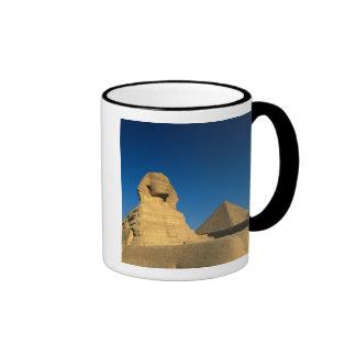 Egypt, Giza, The Sphinx, Old Kingdom, Unesco Ringer Mug