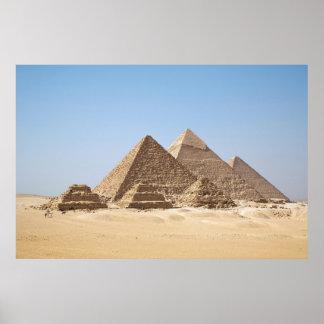 Egypt-Gizah Pyramids Huge Poster