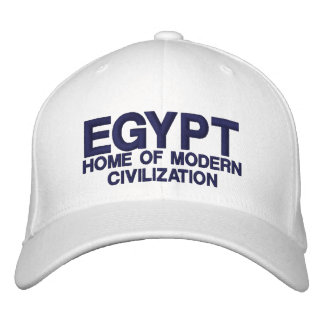 EGYPT HAT EMBROIDERED CAP