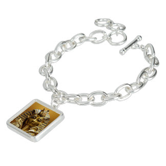 Egypt King Tut Charm Bracelet