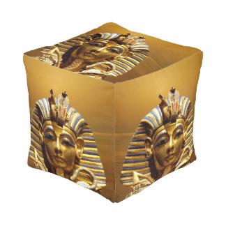 Egypt King Tut Cube Pouf Cube Pouffe