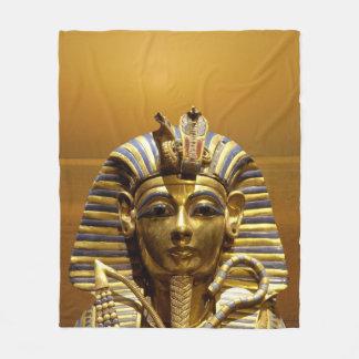 Egypt King Tut Fleece Blanket
