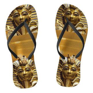 Egypt King Tut Flip Flops Thongs