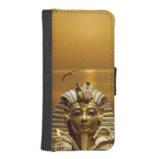 Egypt King Tut iPhone 5/S Wallet Case Phone Wallet Case