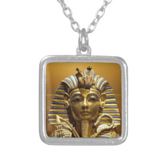 Egypt King Tut Silver Plated Necklace
