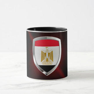 Egypt Metallic Emblem Mug