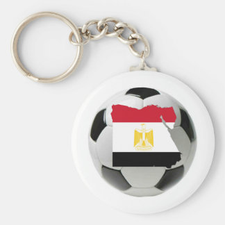 Egypt national team basic round button key ring