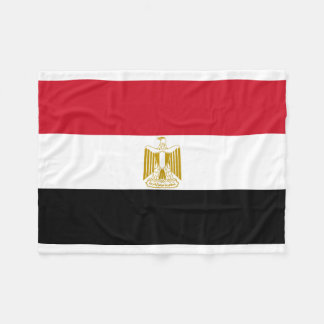 Egypt National World Flag Fleece Blanket