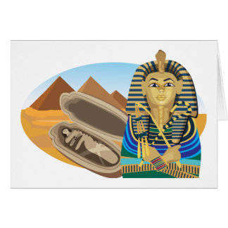 Egypt Pharaoh Card