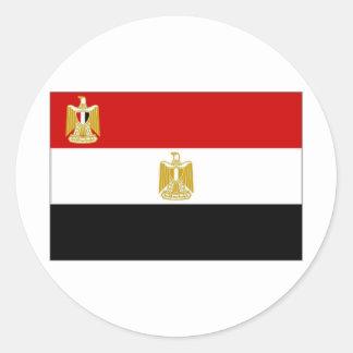 Egypt President Flag Classic Round Sticker