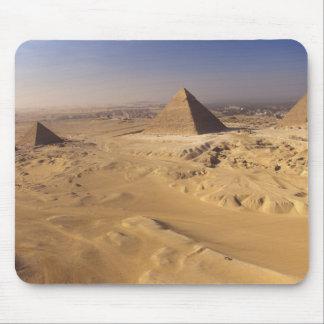 Egypt, Pyramids at Giza, Khafre, Khufu, Menkaure Mousepad