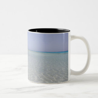 Egypt, Red Sea, Marsa Alam, Sharm El Luli, Beach 2 Two-Tone Coffee Mug