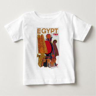 Egypt Vintage Air Travel Ancient Culture Tourism Baby T-Shirt