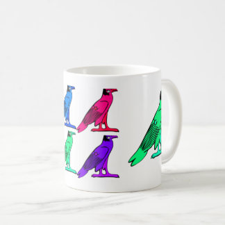 Egyptian Bird Motif Classic Mug