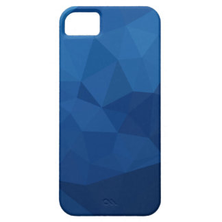 Egyptian Blue Abstract Low Polygon Background Barely There iPhone 5 Case