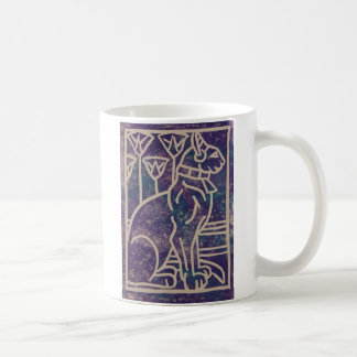 Egyptian Cat Design Coffee Mug