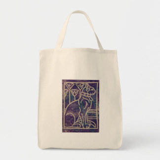 Egyptian Cat Design Tote Bag