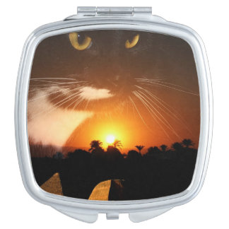 Egyptian Cat God Vanity Mirrors